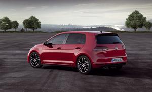Foto Lateral Volkswagen Golf-gtd Dos Volumenes 2013