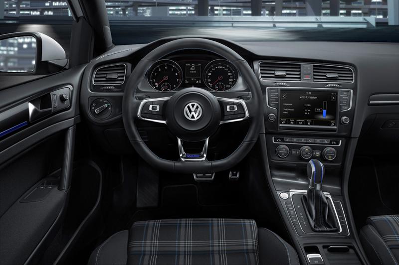 Foto Interiores Volkswagen Golf Gte Dos Volumenes 2014