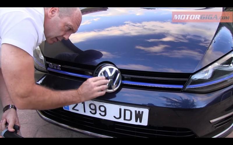 Foto Detalles Volkswagen Golf Gte Prueba Dos Volumenes 2016