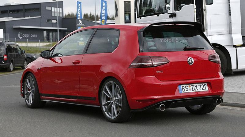 Foto Exteriores Volkswagen Golf Gti Clubsport S Rumores Dos Volumenes 2016