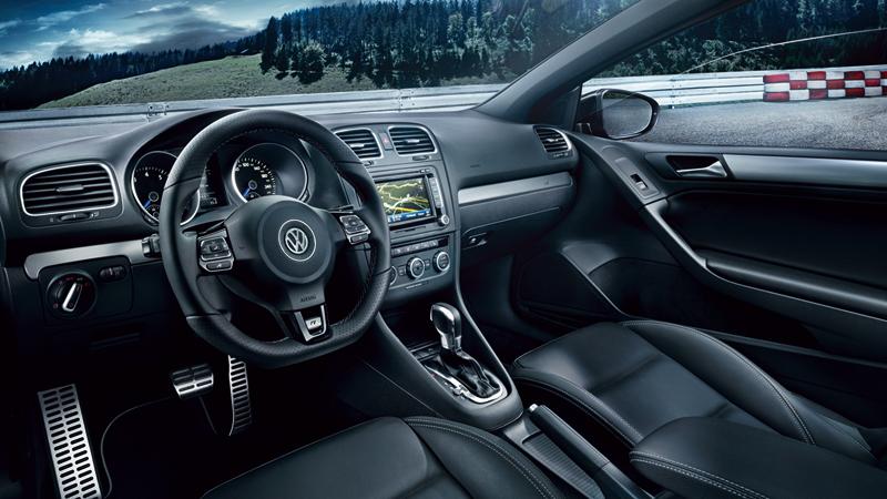 Foto Interiores Volkswagen Golf R Descapotable 2013