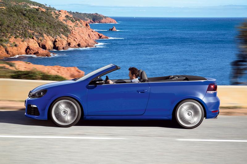 Foto Lateral Volkswagen Golf R Descapotable 2013