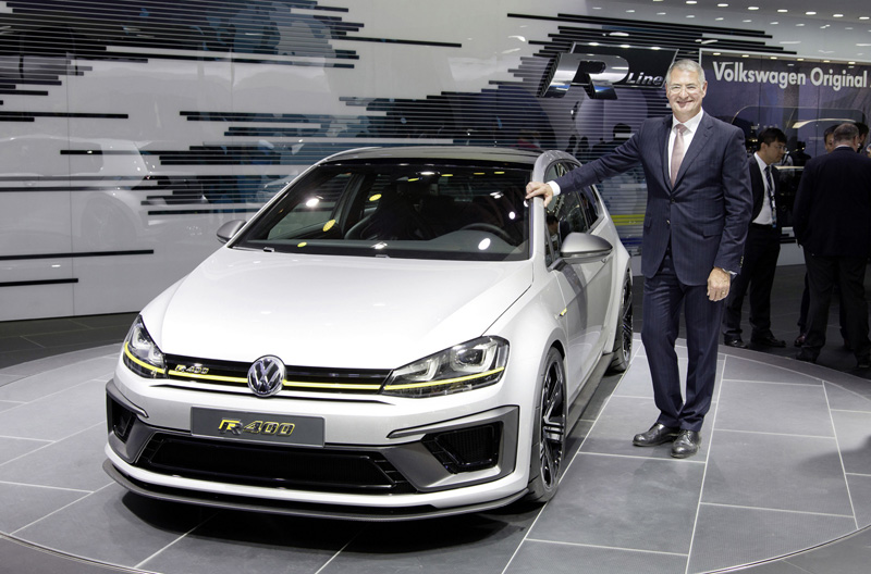 Foto Exterior Volkswagen Golf R 400 Concept 2014