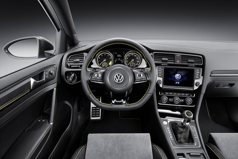 Foto Salpicadero Volkswagen Golf R 400 Concept 2014