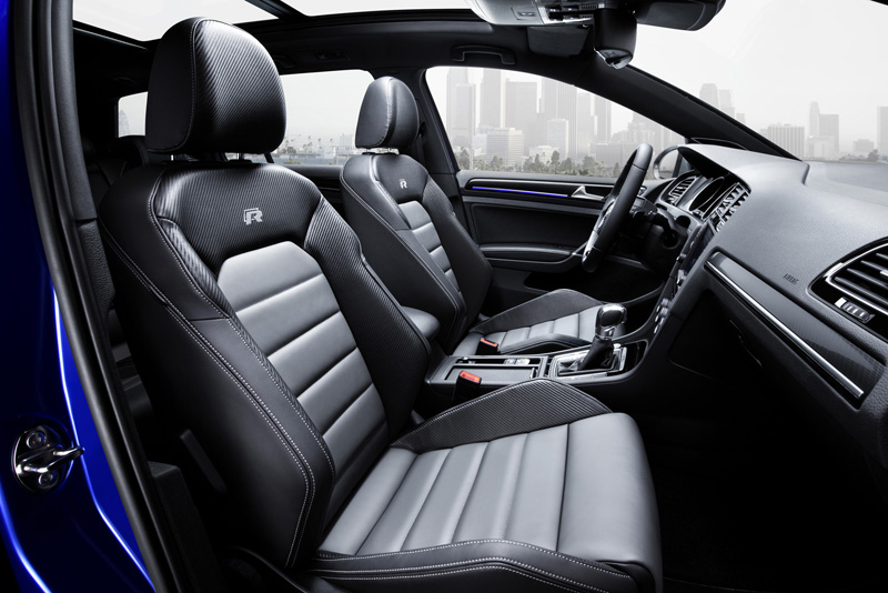 Foto Interior Volkswagen Golf R Variant Familiar 2015