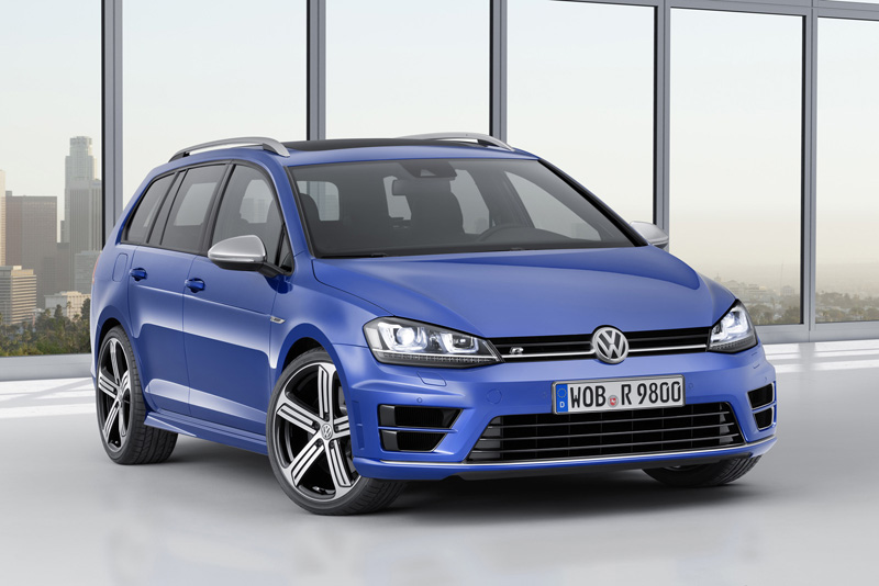 Foto Perfil Volkswagen Golf R Variant Familiar 2015