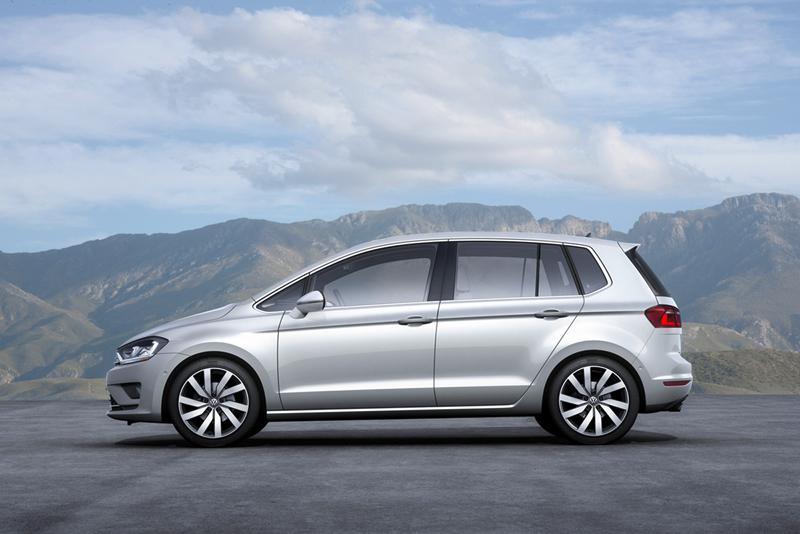 Foto Exteriores Volkswagen Golf Sportsvan Monovolumen 2013