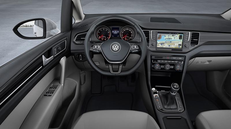 Foto Interiores Volkswagen Golf Sportsvan Monovolumen 2013