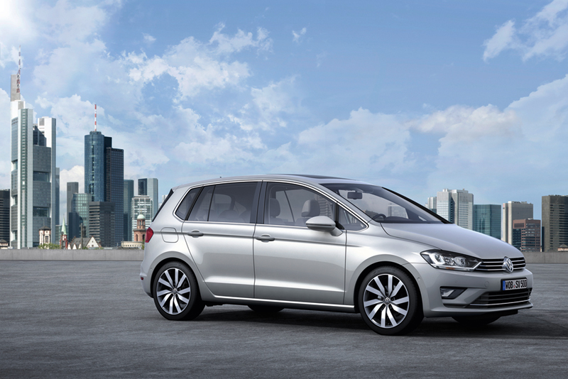 Foto Lateral Volkswagen Golf Sportsvan Monovolumen 2013