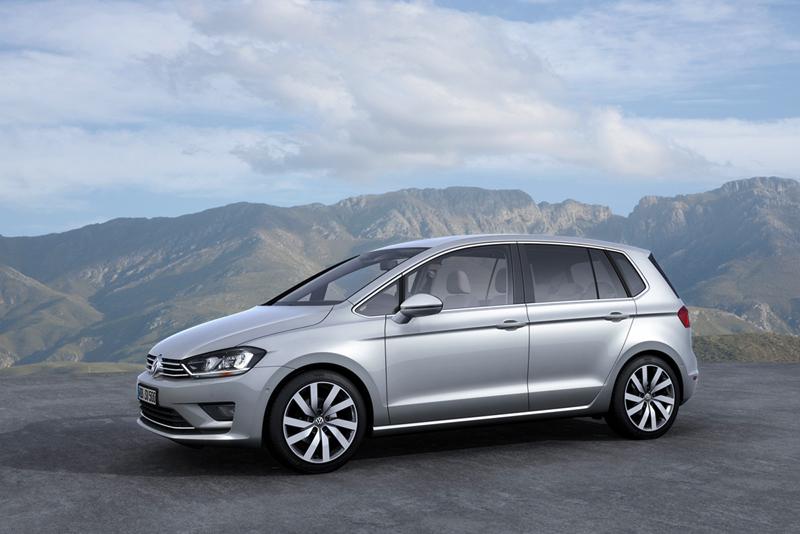 Foto Perfil Volkswagen Golf Sportsvan Monovolumen 2013