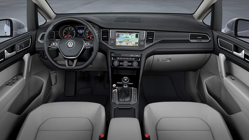 Volkswagen Golf Sportsvan en el Salón de Frankfurt 2013