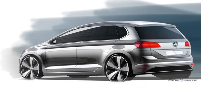 Foto Tecnicas Volkswagen Golf Sportsvan Monovolumen 2013