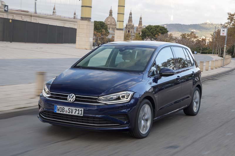 Foto Exteriores Volkswagen Golf Sportsvan Monovolumen 2017