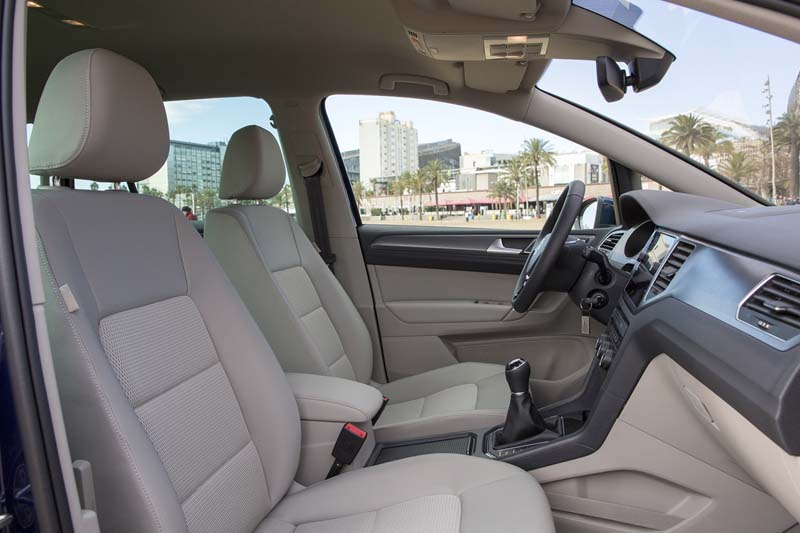 Foto Interiores Volkswagen Golf Sportsvan Monovolumen 2017