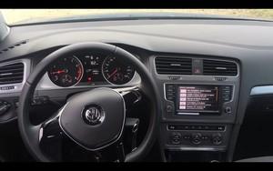 Foto Salpicadero Volkswagen Golf-tsi-bluemotion-prueba Dos Volumenes 2016