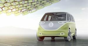 Foto Delantera Volkswagen I-d-buzz Concept 2017