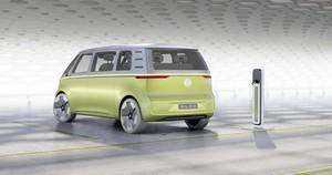 Foto Exteriores 1 Volkswagen I-d-buzz Concept 2017