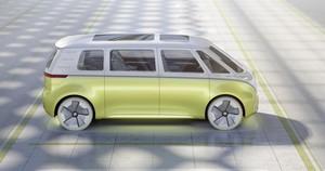 Foto Exteriores 2 Volkswagen I-d-buzz Concept 2017