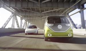 Foto Exteriores 3 Volkswagen I-d-buzz Concept 2017