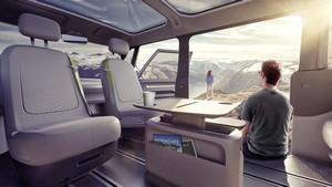Foto Interiores 2 Volkswagen I-d-buzz Concept 2017