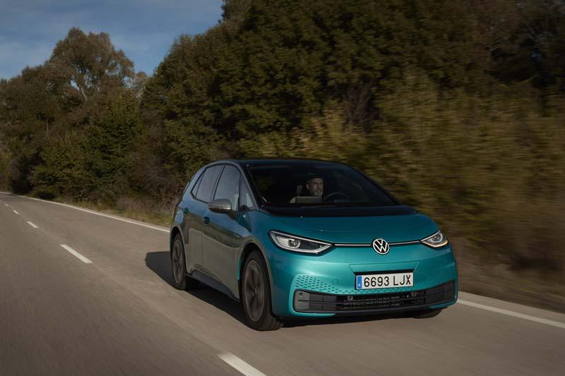 Foto Delantera Volkswagen Id.3 Dos Volumenes 2020