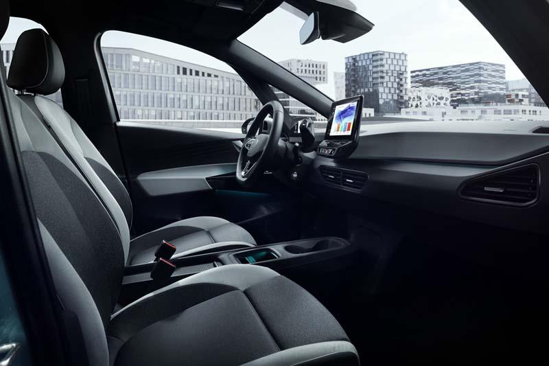Foto Interiores Volkswagen Id.3 Dos Volumenes 2020