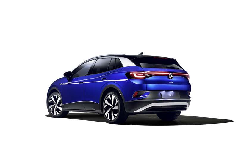 Foto Trasera Volkswagen Id.4 Suv Todocamino 2021