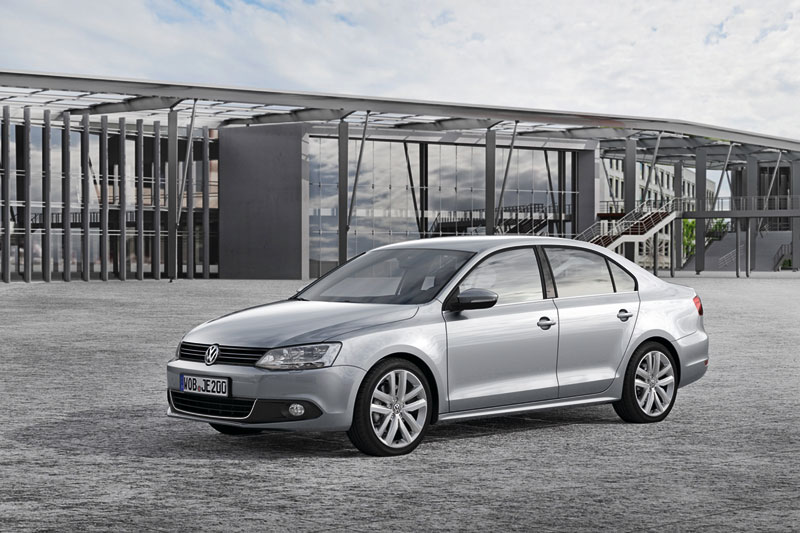 Foto Delantera Volkswagen Jetta Berlina 2011