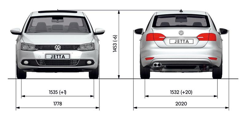 Foto Tecnicas Volkswagen Jetta Sedan 2011