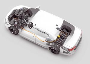 Foto Tecnicas (6) Volkswagen Jetta-hybrid Berlina 2013
