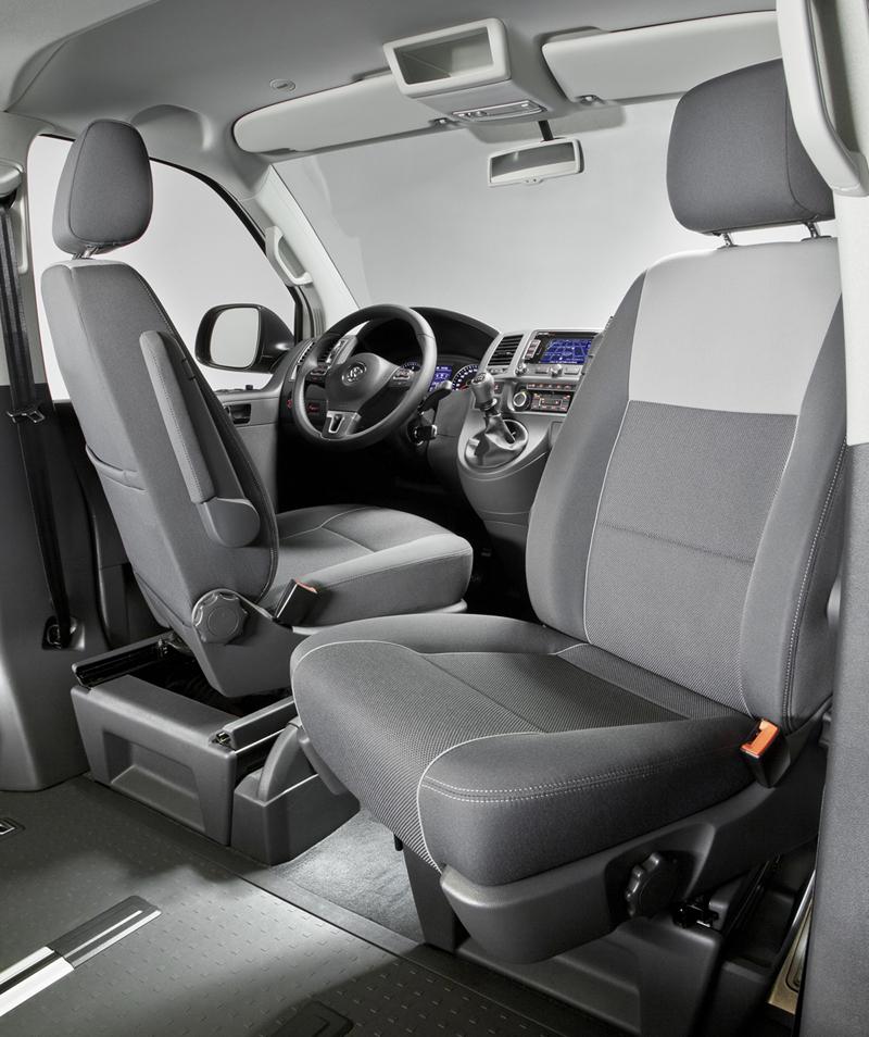 Foto Interiores Volkswagen Multivan Outdoor Edition Vehiculo Comercial 2014
