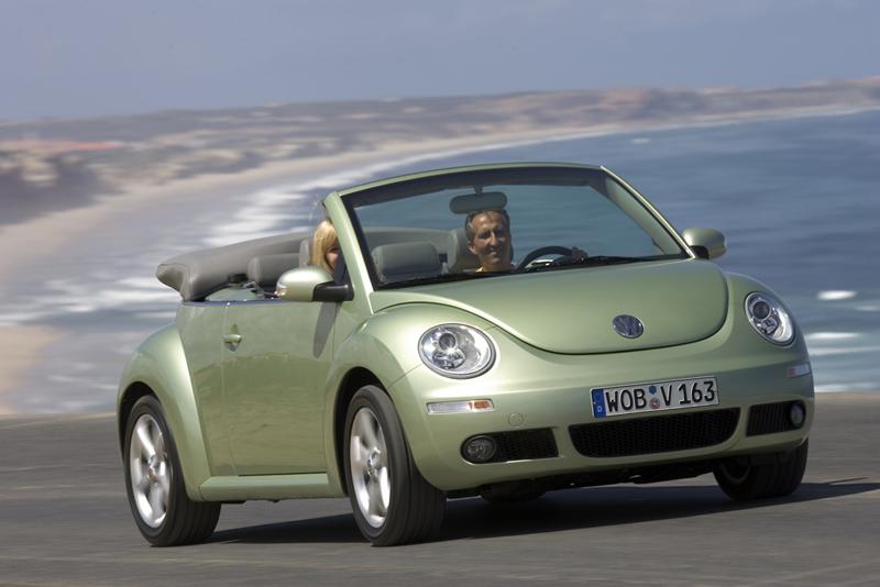 Foto Delantero Volkswagen New Beetle Descapotable 2007