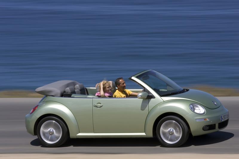 Foto Lateral Volkswagen New Beetle Descapotable 2007