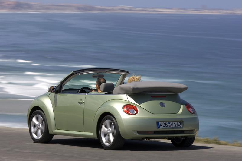 Foto Trasero Volkswagen New Beetle Descapotable 2007