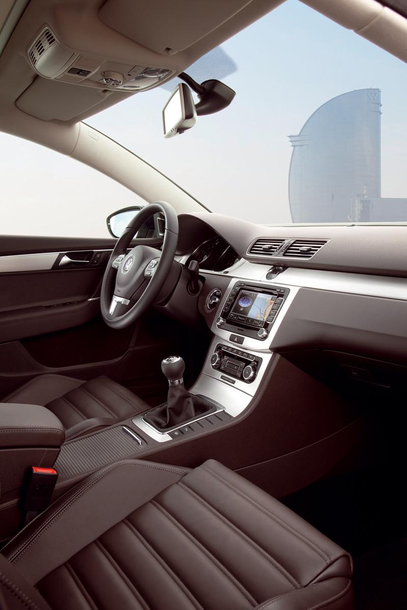 Interiores del Volkswagen Passat