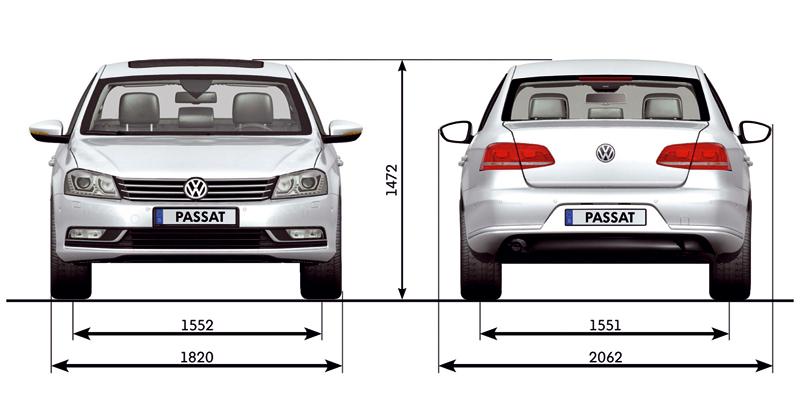 Foto Tecnicas Volkswagen Passat Berlina 2010