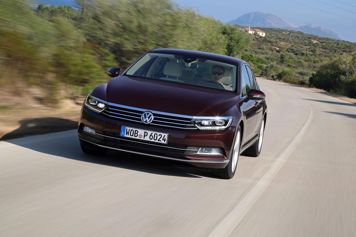 Volkswagen Passat 2014, en noviembre en Europa