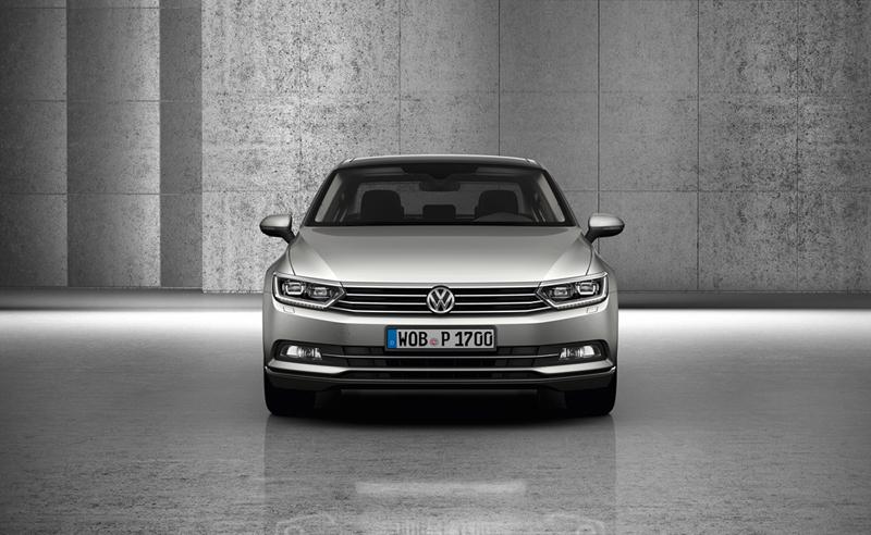 Foto Delantera Volkswagen Passat Berlina 2014