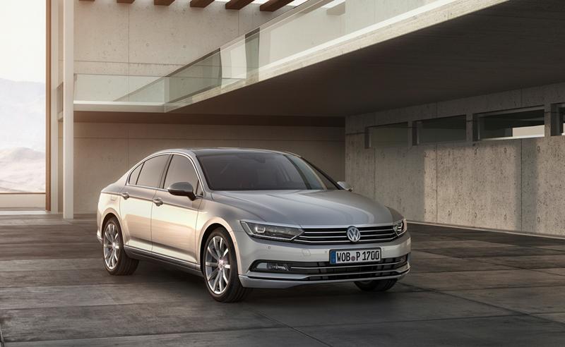 Foto Perfil Volkswagen Passat Berlina 2014