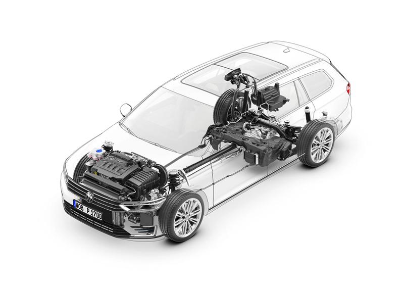 Foto Tecnicas Volkswagen Passat Berlina 2014