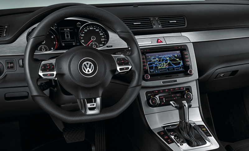 Foto Interiores Volkswagen Passat Cupe 2009