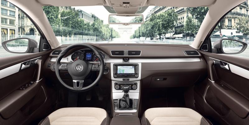 Foto Interiores Volkswagen Passat Familiar 2010
