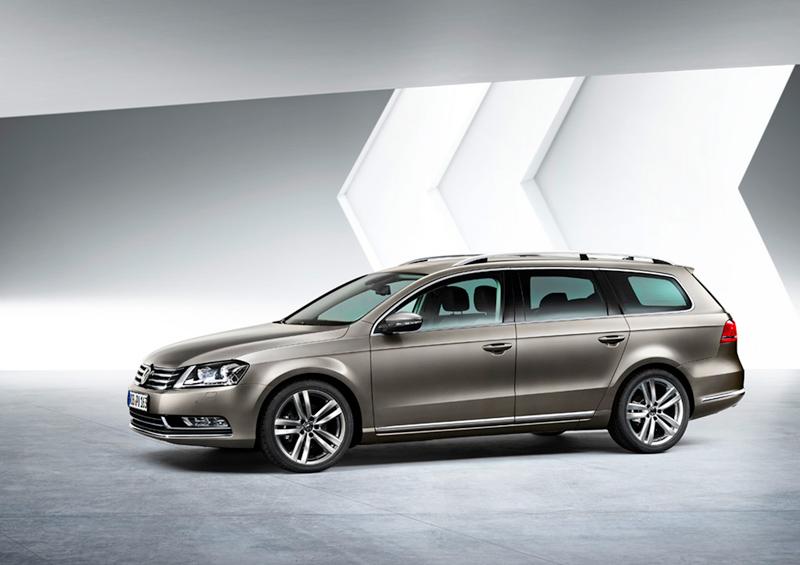 Foto Lateral Volkswagen Passat Familiar 2010