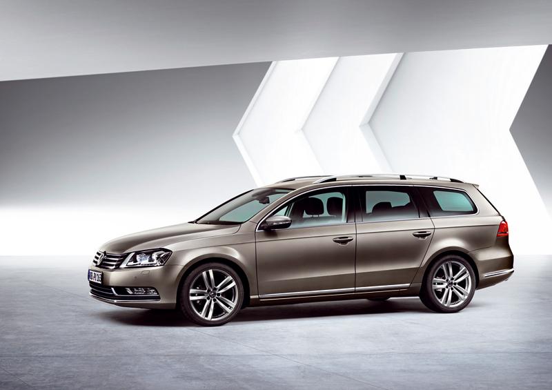 Foto Perfil Volkswagen Passat Familiar 2010
