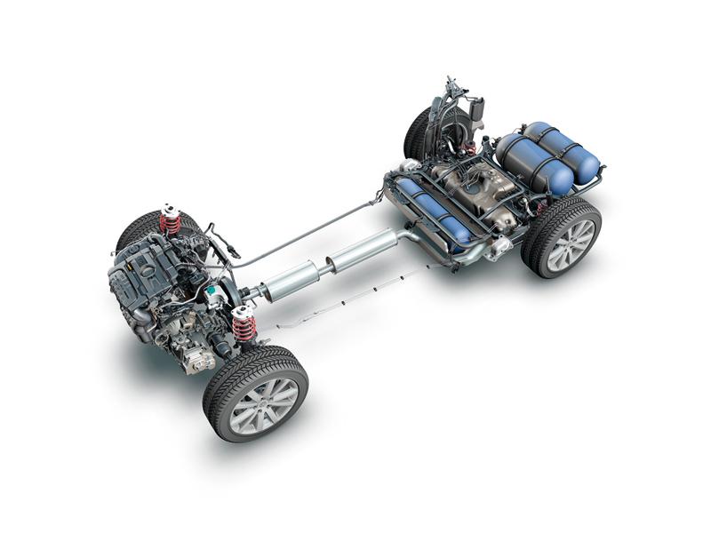 Foto Tecnicas Volkswagen Passat Familiar 2010