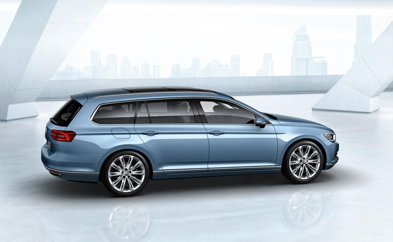 Foto Exteriores (13) Volkswagen Passat Familiar 2014