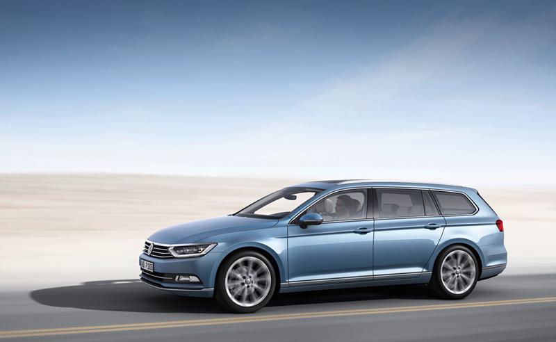 Foto Exteriores (15) Volkswagen Passat Familiar 2014