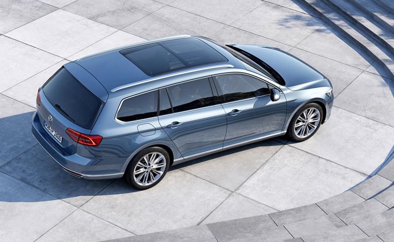 Foto Exteriores (17) Volkswagen Passat Familiar 2014