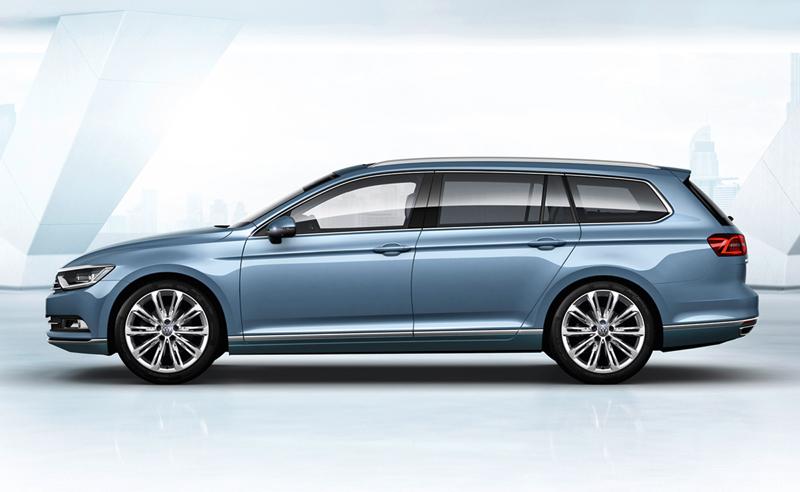 Foto Exteriores (18) Volkswagen Passat Familiar 2014