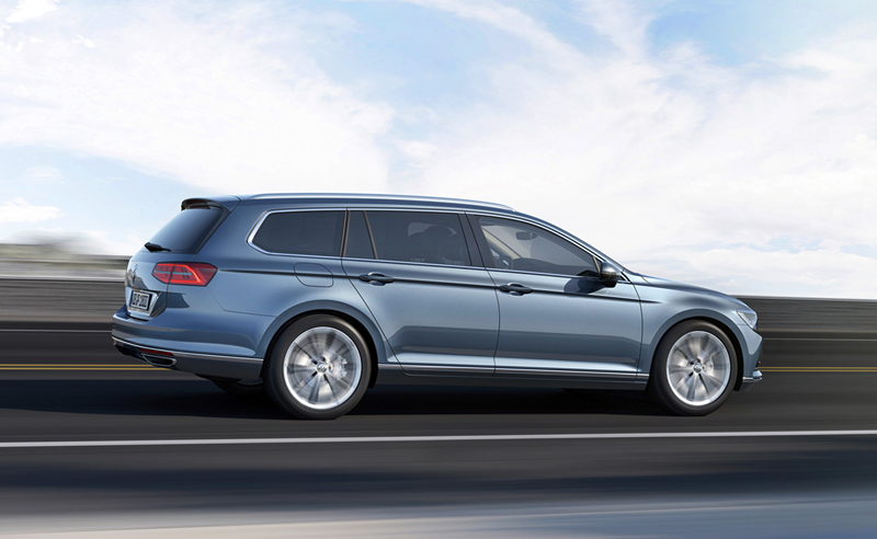 Foto Exteriores (22) Volkswagen Passat Familiar 2014